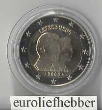 Luxemburg     2 Euro Commemorative    2006  Henri & Guillaume  in CAPSULE