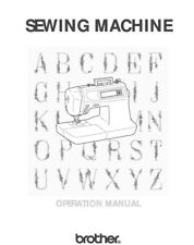 Brother PC-6500 Sewing Machine Owners Instruction Manual Reprint