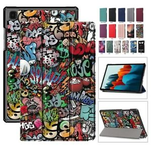 Smart Case For Samsung Galaxy Tab S7 FE 2021 T736 12.4'' Tablet PU Leather Cover