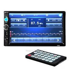 7'' HD Bluetooth Car Stero Radio 2 DIN FM/MP5/USB/AUX/Touch Screen  v#h9