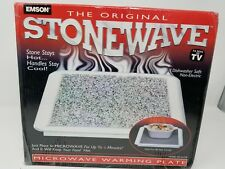 Emson The Original Stonewave Microwave Warming Plate New In The Box