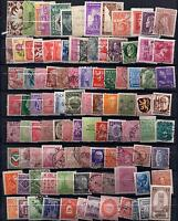 100 Different Old Time Vintage Worldwide Stamps. Great Value Collection Builder