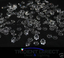 1000pcs Acrylic Diamond Scatters Clear 10mm