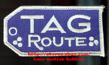 LMH PATCH Railroad  TAG Route  TENNESSEE ALABAMA GEORGIA Railway Herald  3-1/2""