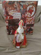 """Duncan Royale 12"""" Santa Claus St Saint Nicholas Figurine 1983 w/Original Box Euc"""