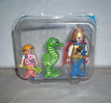 Playmobil 5882 Ocean Mermaid Set - King, Princess and Seahorse - Opened Box