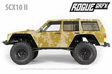 Axial SCX10 II Cherokee Body Graphic Wrap Skin - Desert Camo