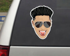 "Pauly D Sticker Face Jersey Shore Show Vinyl Decal Sticker 6"" GTL cabs are here"
