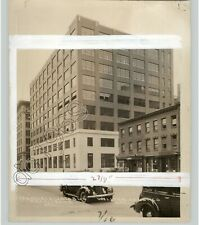 1937 General Dyestuff Bldg. Francisco-Jacobus Archts New York City Press Photo