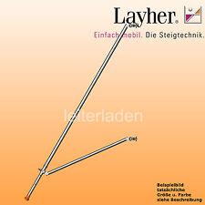 Layher Fahrgerüst Gerüststütze ausziehbar Rollgerüst Einzelteil Art. 1248.260