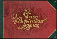 AUSTRALIË POSTZEGELBOEKJE 260 UIT 2007 10 JAAR AUSTRALISCHE BEKENDHEDEN.
