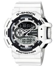 Casio G-Shock Analogue/Digital Mens White/Black Watch GA400-7A GA-400-7A