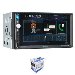 "Jensen CMM7720 7"" Touchscreen Bluetooth Double Din Digital Multimedia Receiver"