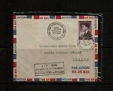 French China indochine Indochina South Vietnam President Ngo Dinh Diem FDC 1956