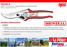 Felco 4 Pruning Shear of Switzerland with FREE OZ Sharpener. AUSTRALIA