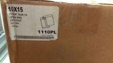 10 X 15 Tyvek Envelopes 500/lot 1110PL Bulk Lot-48