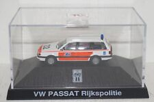 Herpa/De Kleine VW Passat Rijkspolitie HOLLAND Polizei in PC 1:87 (R2_3_20)