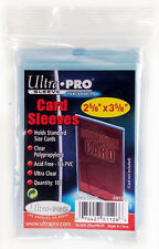 ULTRA PRO SOFT SLEEVES TRADING CARD DECK PROTECTORS (100 pcs) YUGIOH MTG POKEMON