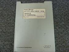1993 1994 1995 Volkswagen VW Golf GTI Jetta Cabrio HVAC AC Service Repair Manual