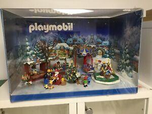 Playmobil Weihnachtsmarkt Schaukasten