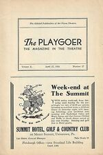 "Rachel Crothers' ""WHEN LADIES MEET"" Frieda Inescort / Walter Abel 1933 Playbill"
