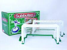 SUBBUTEO Deluxe obiettivi VERDE BASE NUOVA TAVOLA Soccer Calcio Paul Lamond PORTE giocattolo