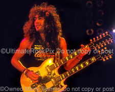 JEFF LABAR PHOTO CINDERELLA 8x10 Concert Photo in 1989 by Marty Temme 1A EDS-175
