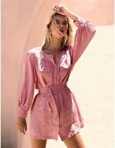 Steele Geneva Detail Dress in Bubblegum
