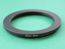 62mm-49mm Stepping Step Down Male-Female Lens Filter Ring Adapter 62mm-49mm