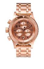 Nixon 38-20 Chrono Rose Gold Quartz Analog Women's Watch A404-1044