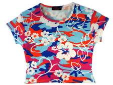 T-shirts, hauts et chemises multicolores avec col rond manches courtes pour fille de 2 à 16 ans