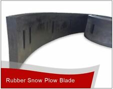 "1"" x 8"" x 8' Linville Snow Pusher Rubber Cutting Edge Free Shipping!"