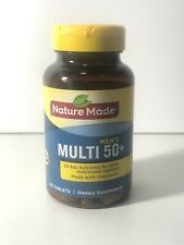 Nature Made Men's Multivitamin 50+ (90 Tablets) for Daily Nutritional Support