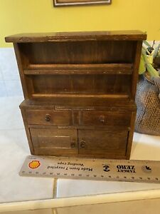 Dolls House Gorgeous Hand Made Welsh Dresser 1.12