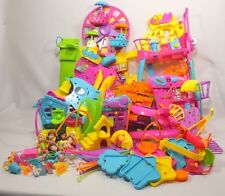 Polly Pocket Wall Party Mall on the Wall Huge Lot with Extras