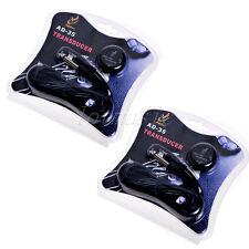 2* Mini Transducer W/ Volume Pickup For Guitar Ukulele Violin Guzheng Erhu Etc.