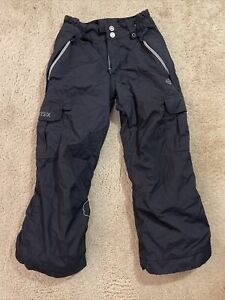 686 Six Eight Six manual Insulated Snowboarding Pants Youth Kids Size Small