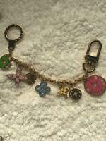 Auth Louis Vuitton Porte Cles Loopig Key Ring Bag Charm M66474 Never Used F/S
