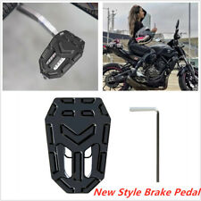 Widening Non-slip Brake Pedal Motorcycle Bike Aluminum Accessories
