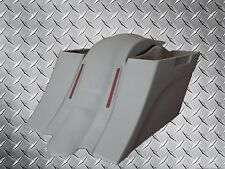 """Harley """"Down & Out"""" Stretched Saddlebags and LED Fender - No Cut Outs Bagger"""