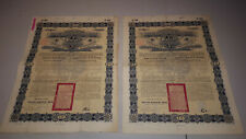 More details for (lot 417)  2x 1896 kaiserlich chinese imperial goverment 5% gold loan  £25
