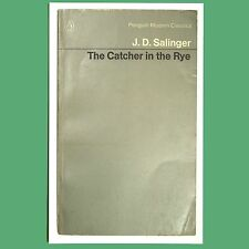 Postcard - Catcher In The Rye By J. D. Salinger - A Penguin Book Cover Postcard