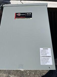 Briggs & Stratton 100-Amp Automatic Transfer Switch w/ 16-Circuit Load Center...