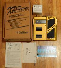 Vintage Digitech XP300 Space Station Guitar Pedal Rare Working - Original Box