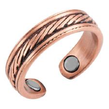 Bague magnétique en cuivre avec aimants - Greco