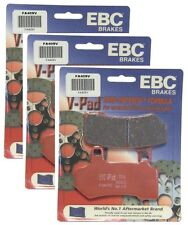 EBC 2 Sets Front + 1 Rear Brake Pads (3 Sets) 2008-2014 Harley FLHX Street Glide