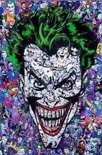 JOKER by Mr Garcin SOLD OUT Signed #/150 Harley Batman D.C. Comics Liscensed