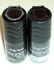 2 Sally Hansen Magnetic Nail Color GRAPHITE GRAVITY 908 Factory Sealed