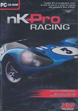 NK PRO RACING - NKPRO Net Kar Car Race Simulation PC Game - Win XP, Vista, 7 NEW