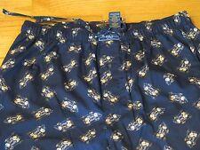 Men's Polo Ralph Lauren Sleepwear Ski Bear Print Pajamas Pants Size: X-Large NWT
